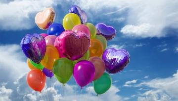einhorn luftballon