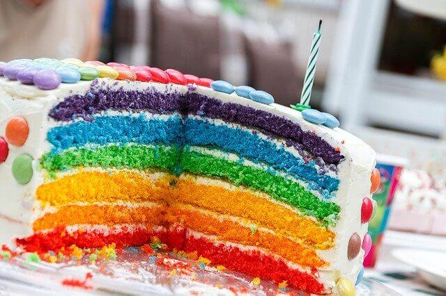 Einhorn Geburtstag Kuchen