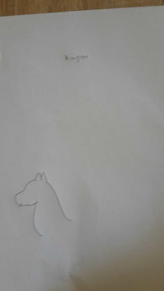 Einhorn Koerper zeichnen