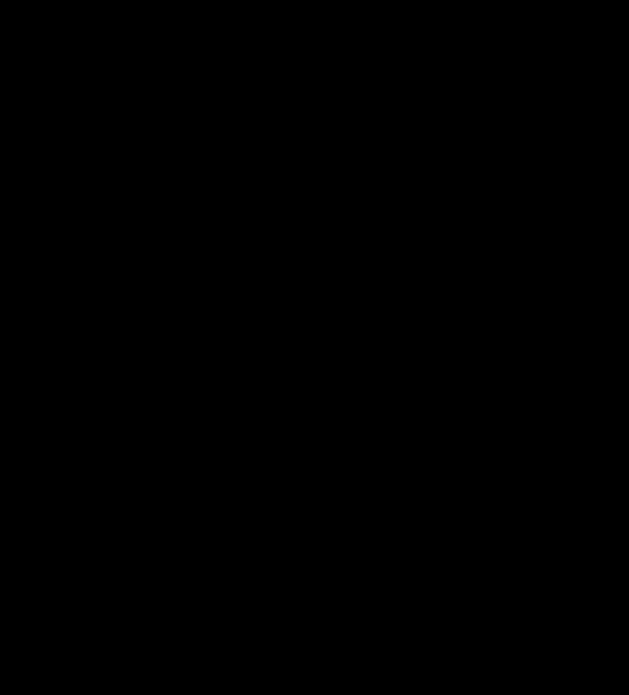 einhorn silhouette stehend