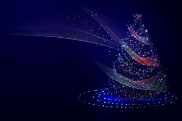 einhorn weihnachten hintergrund