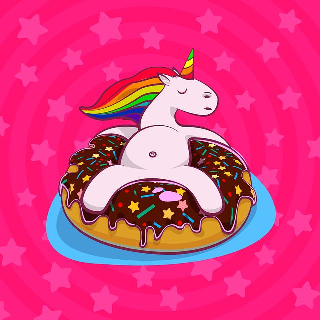pummeleinhorn donut