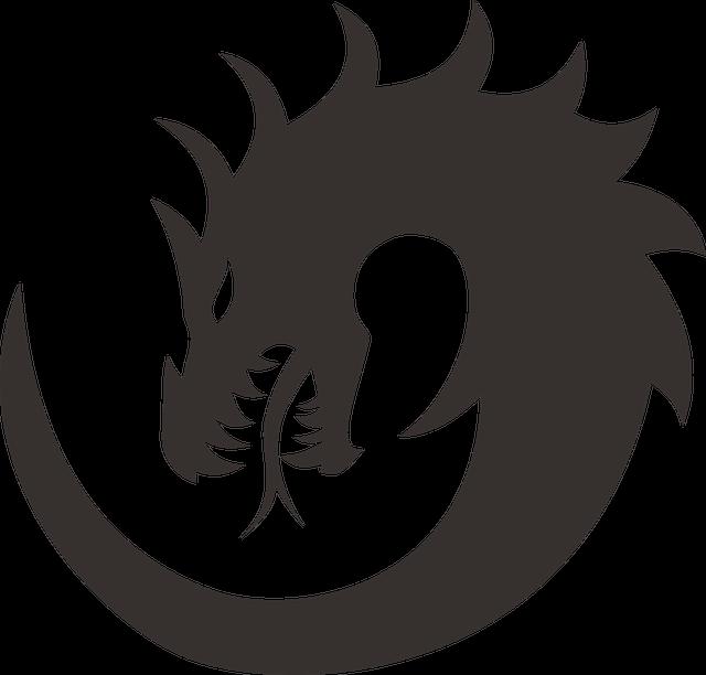 drachen malen symbol